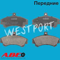 Тормозные колодки ABE Mitsubishi COLT Mitsubishi SPACE Mitsubishi CARISMA Передние Дисковые С датчиком износа C1V017ABE
