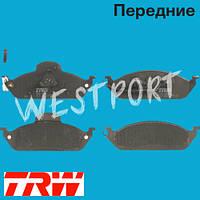 Тормозные колодки TRW Mercedes M-CLASS Передние Дисковые С датчиком износа GDB1378