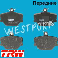 Тормозные колодки TRW Передние Дисковые Со звуком износа GDB1365