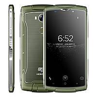 "Смартфон противоударный HOMTOM ZOJI Z7 зеленый (IP68, экран 5"", памяти 2/16, аккумулятор 3 000 мАч), фото 1"