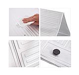 Захисна складна панель з фольги для газової плити (жиру) 500×900 мм, фото 7