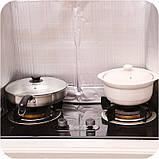 Захисна складна панель з фольги для газової плити (жиру) 500×900 мм, фото 4