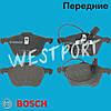 Тормозные колодки Bosch Volkswagen SHARAN Ford GALAXY Volkswagen TRANSPORTER Передние Дисковые Под датчик износа 0 986 424 777