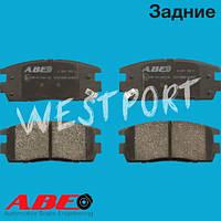 Тормозные колодки ABE Opel ANTARA Chevrolet CAPTIVA Задние Дисковые Со звуком износа C20012ABE