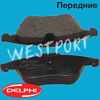 Тормозные колодки Delphi Ford GALAXY Ford MONDEO Ford S-MAX Передние Дисковые Без датчика износа LP1967