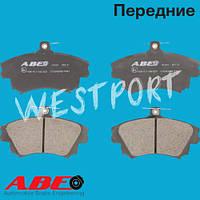 Тормозные колодки ABE Mitsubishi CARISMA Mitsubishi COLT Передние Дисковые Со звуком износа C15043ABE