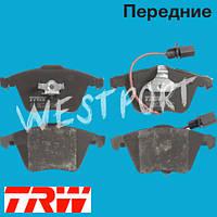 Тормозные колодки TRW Audi A6 Audi A4 Передние Дисковые С датчиком износа GDB1659