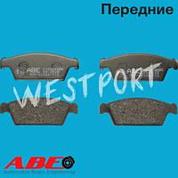 Тормозные колодки ABE Daewoo TICO Передние Дисковые Без датчика износа C10006ABE