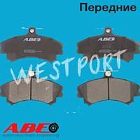 Тормозные колодки ABE Mitsubishi COLT Mitsubishi SPACE Mitsubishi CARISMA Передние Дисковые Со звуком износа C15036ABE