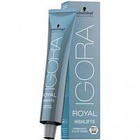 Перманентная крем-краска (блонд оттенки) IGORA ROYAL Highlift 60ml Оттенок: 12-19 специальный блондин экстра фиолетовый