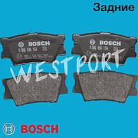 Тормозные колодки Bosch Toyota RAV 4 Toyota CAMRY Toyota AURION Задние Дисковые Без датчика износа 0 986 494 154