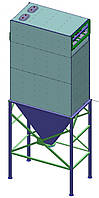 ФИП 2 - рукавный фильтр с импульсной продувкой