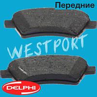 Тормозные колодки Delphi Передние Дисковые Под датчик износа LP1966, фото 1
