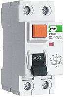 Реле захисного відключення Промфактор РЗВ Standart 1P+N, 30-100мА, 25-100А