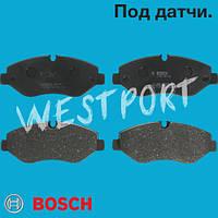 Тормозные колодки Bosch Mercedes VITO Mercedes SPRINTER Volkswagen CRAFTER Mercedes VIANO Дисковые Под датчик износа 0 986 494 121