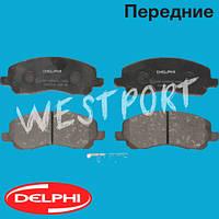 Тормозные колодки Delphi Mitsubishi LANCER Peugeot 4008 Mitsubishi ASX Mitsubishi GALANT Mitsubishi SPACE Передние Дисковые Под датчик износа LP1684