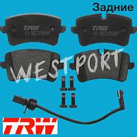 Тормозные колодки TRW Audi A7 Sportback Audi A5 Audi A4 Audi A6 Audi Q5 Задние Дисковые С датчиком износа GDB1902