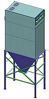 ФИП 1 - рукавный фильтр с импульсной продувкой