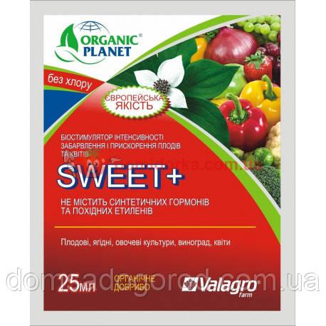 Биостимулятор роста SWEET (СВИТ) Valagro 25 мл Organic Planet
