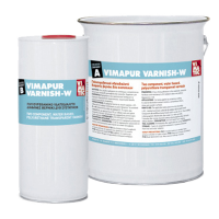 Двухкомпонентный полиуретановый лак растворимый водой VIMAPUR VARNISH-W