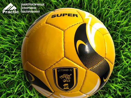 М'яч футбольний Super Yellow (Size 5), фото 2