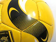 М'яч футбольний Super Yellow (Size 5), фото 3
