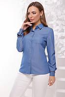 Рубашка 1773 джинс, фото 1
