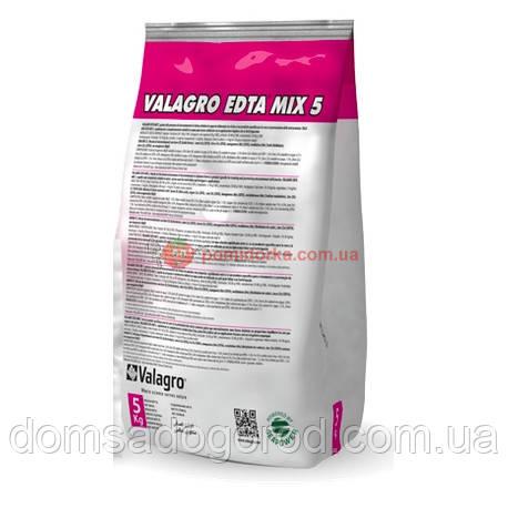Микроэлементы EDTA (ЭДТА) МИКС 5 SG Valagro 5 кг