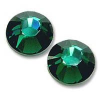 Стразы Swarovski ss 3 Emerald (размер 1,35-1,5 мм) 100 шт