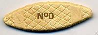 Плоские шканты (ламели) Virutex (Испания), №0 (47*15*4 мм),1000 штук