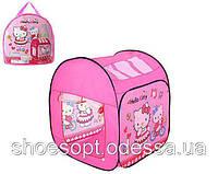 Дитячий ігровий намет будиночок Hello Kitty Хелло Кітті 100х84х84 см