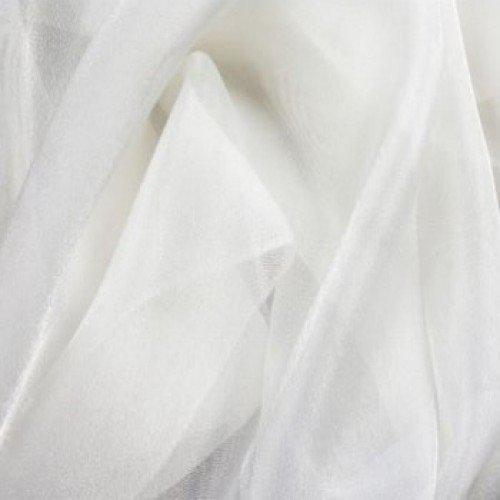 Гардинная ткань полуорганза (3 м) молочная