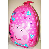 """Детский чемодан на колесах """"Свинка Пеппа"""" 47*31*25,5 см"""