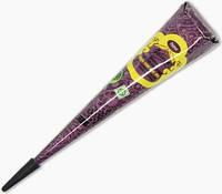 Хна для росписи тела конус (фиолетовая)