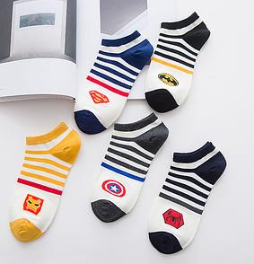 ОПТ. Наборы коротких носков (5 пар в наборе). 8 наборов на выбор