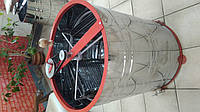 Медогонка Euro3S 3-х рамочная нержавеющая (бак, касеты) оборотная
