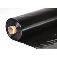 Пленка полиэтиленовая черная для мульчирования почвы Пластмодерн 1500мм-150-мкм-50 м.