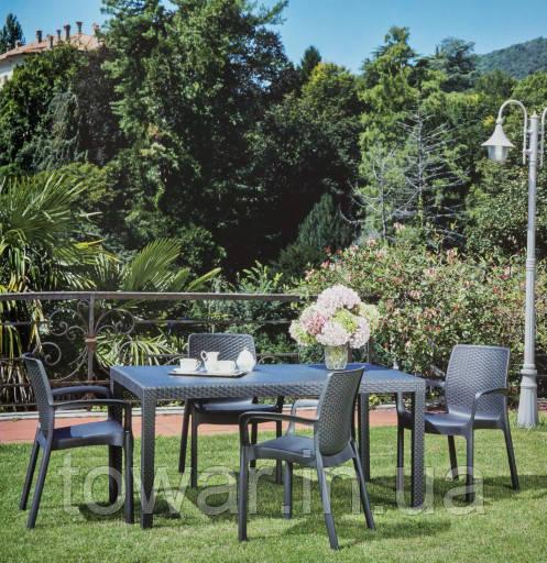 Садовая мебель Ротанг PRINCE  10 стульев EUROHIT Garden