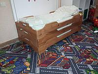 Кровать-лоток СОН детская 1-м.(натуральная ольха) 1400*600*200