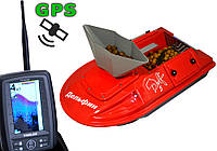 Прикормочный кораблик Дельфин - 5 TF500 GPS