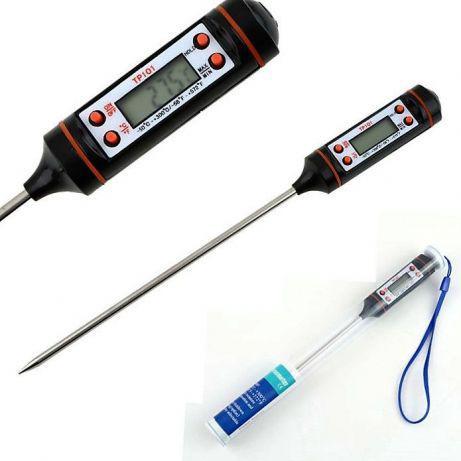 Кулинарный термометр щуп цифровой с футляром