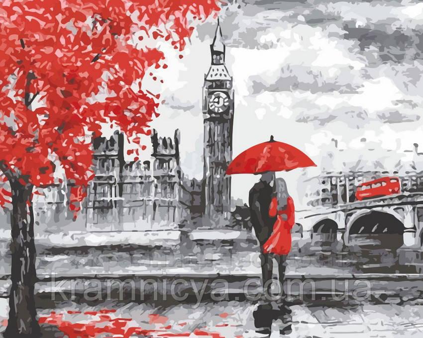 Картина по номерам Прогулка по Лондону, 40x50 (AS0145)