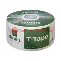 Крапельна стрічка T-Tape REVULIS 8 mil 10 см 2300 м