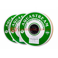 Крапельна стрічка AQUASTREAM (Аквастрим) 8 mil 15 см 1,6 л/год 1000 м