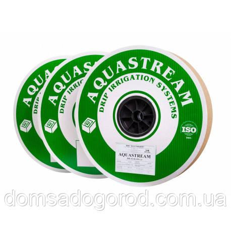 Капельная лента AQUASTREAM (Аквастрим) 6 mil 10 см 1,6 л/ч  500 м