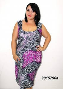 Женское летнее платье 58-64р