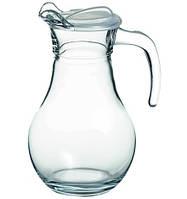 Кувшин стеклянный Pasabahce Bistro 1л. с крышкой