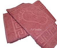 Полотенце-коврик для ног 740 гр/м2 Хлопок 100%