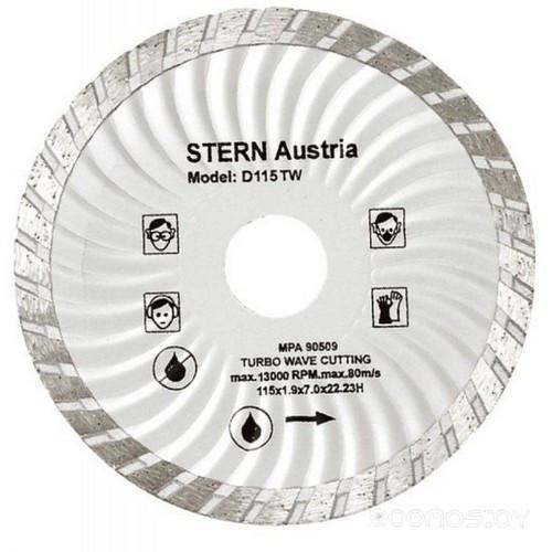 Диск алмазный турбоволна, STERN D230TW, 230*3,1*22 мм (ST230)