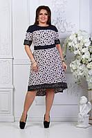 Шикарное женское платье в размерах 50-56